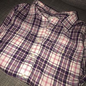 NEVER WORN TALBOT PURPLE FLANNEL